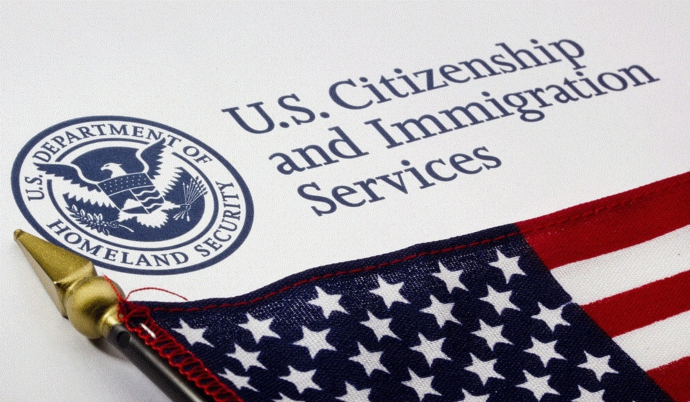 Logo of U.S. Citizenship and Immigration Services