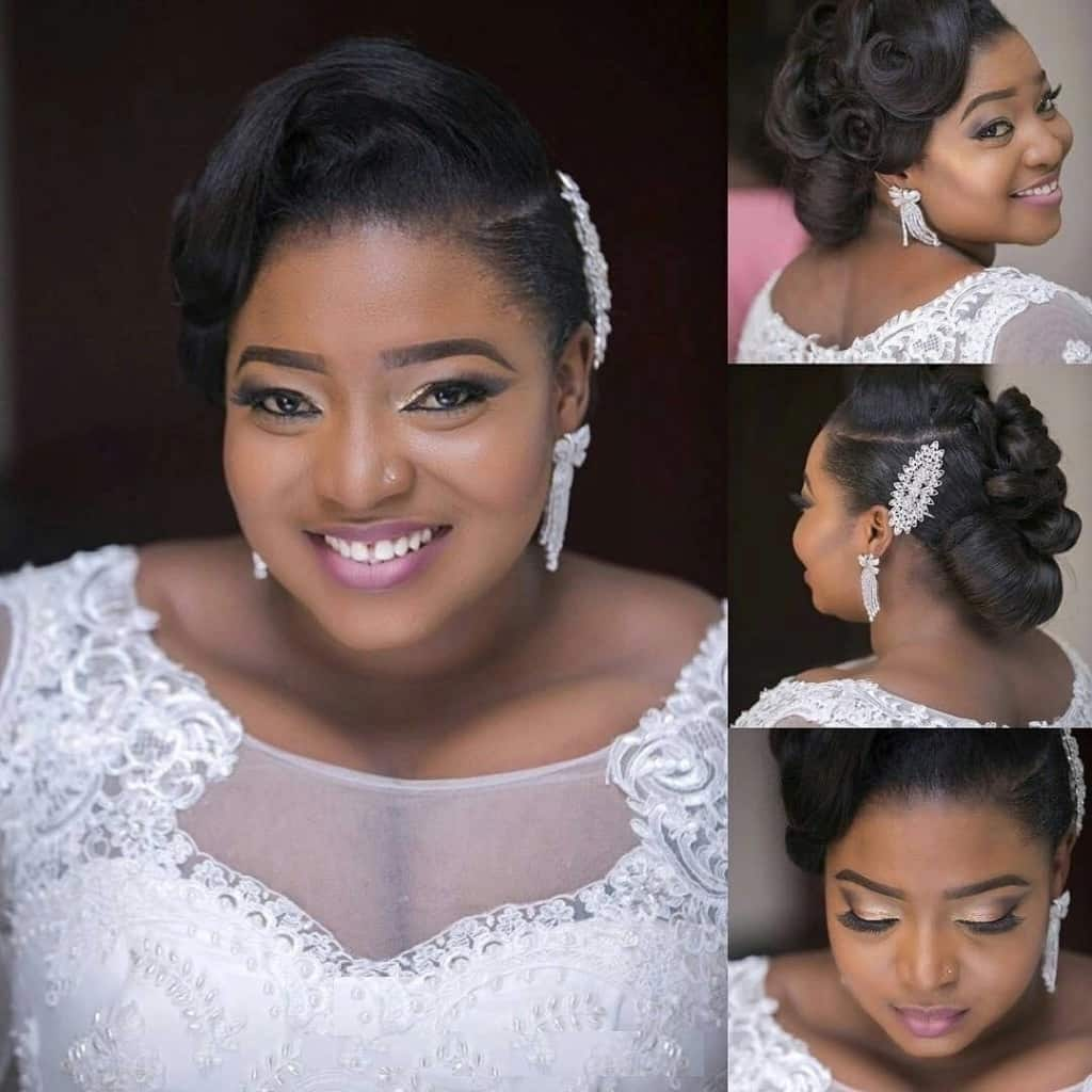 Bridesmaid Hairstyles In Nigeria Hairstyle Ideas