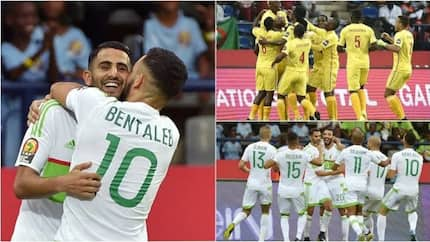Riyad Mahrez scores twice as Algeria draw AFCON 2017 opener