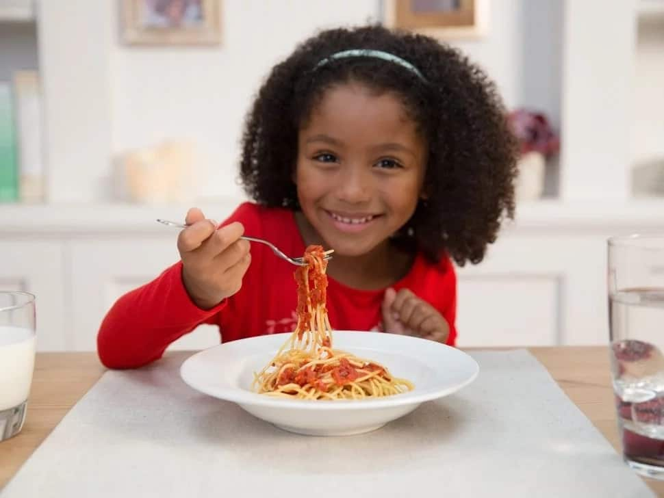 Nigerian food time table for children