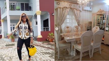 My dining area popping - Mercy Aigbe shares beautiful photos of her house