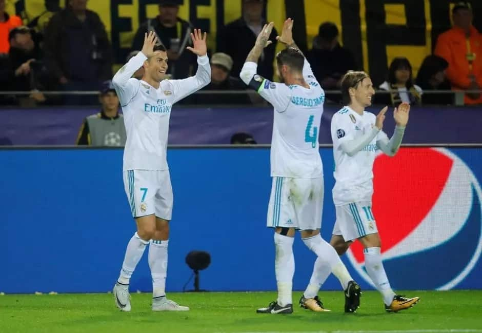 Champions league: Babban Dan wasa Cristiano Ronaldo ya shiga tarihi