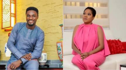 Actress Toyin Abraham's ex-husband Adeniyi Johnson and actress Seyi Edun release their pre-wedding photos