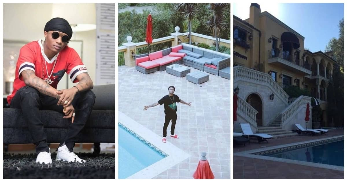 Wizkid new house in Los Angeles