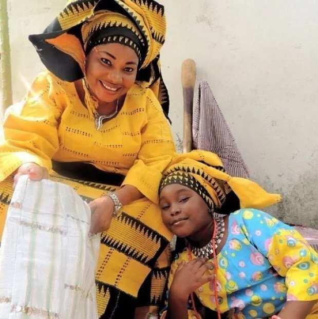 Jaiye Kuti and daughter