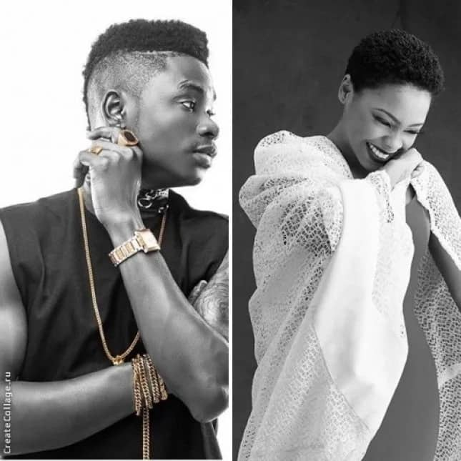 Lil Kesh and Chidinma Ekile