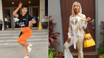 Hit them the shaggi way - Tonto Dikeh says as does the popular Oya Hit Me move (photos)