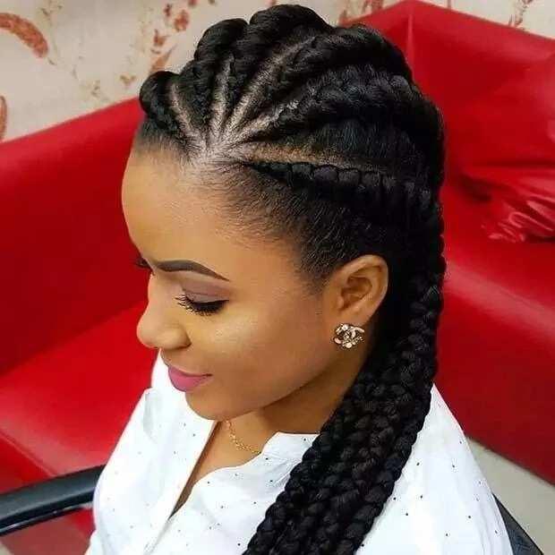 All Back Ghana Weaving Hairstyles Legit Ng