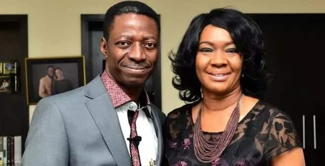 Pastor Sam Adeyemi and his wife