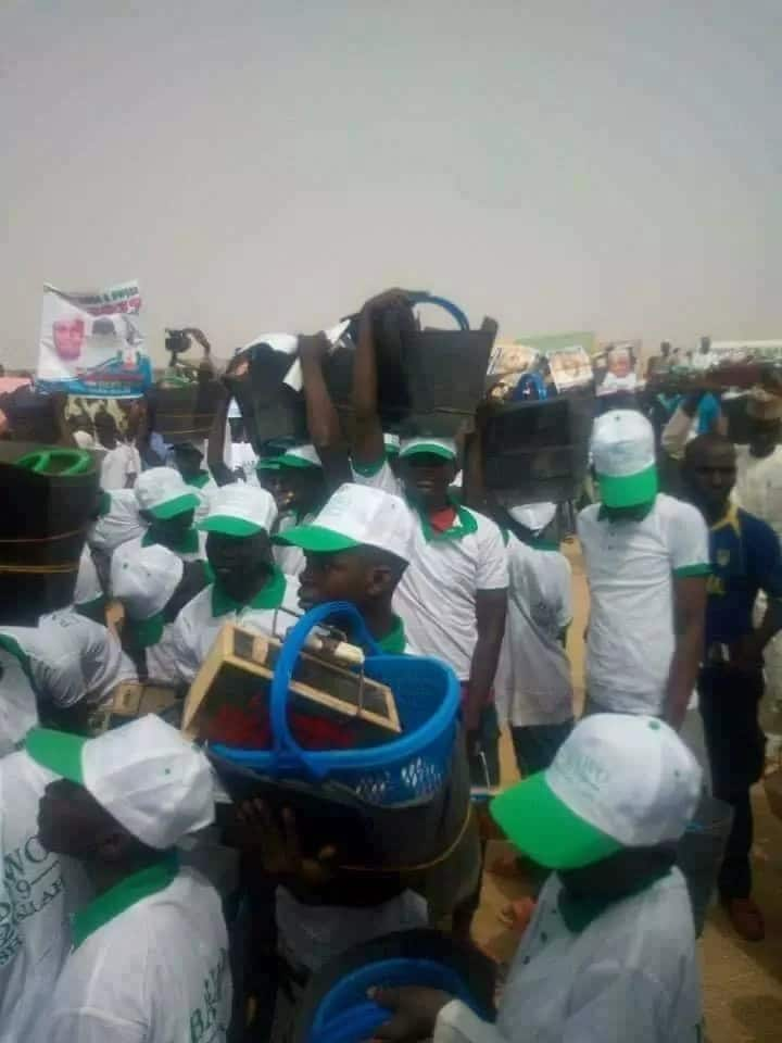 Borno House of Reps member empowers over 5,000 youths (photos)