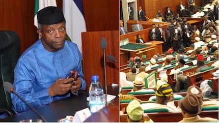 BREAKING: Osinbajo asks national assembly to re-allocate N135bn in 2017 budget