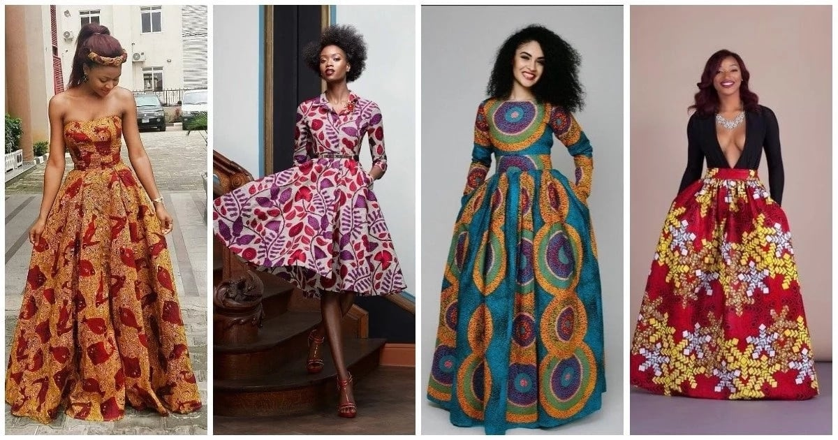 Flowing Gowns Made With Ankara To Rock In 2018 Legit.ng