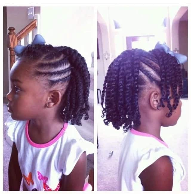 Hairstyles Twists For Kids