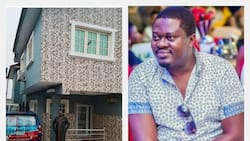 What is Muyiwa Ademola's mansion like?