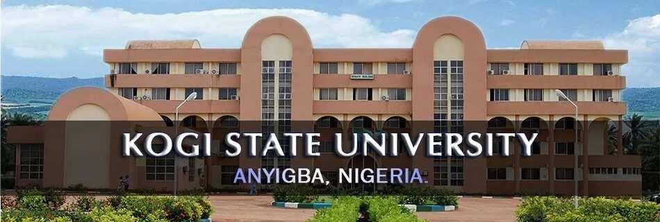 Kogi state university courses offered
