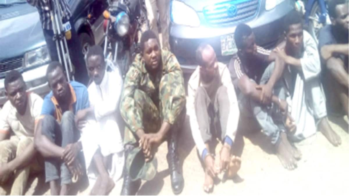 Naval officer, soldiers, ex-policeman nabbed for kidnapping, robbery in Ibadan
