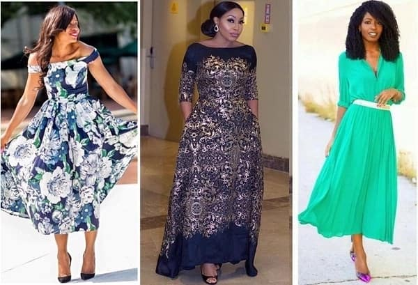English gown styles 2018