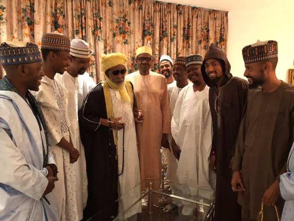 Sheikh Dahiru Bauchi ya ziyarci Shugaban Najeriya Buhari a Villa