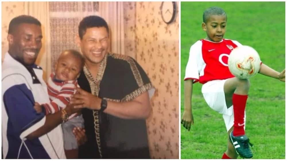 Checkout baby photos of Super Eagles stars