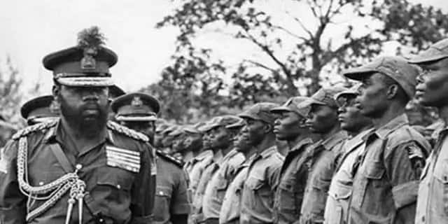 What Gowon said about ojukwu after the Biafra war