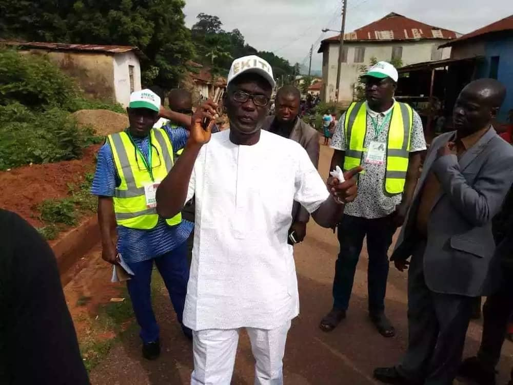 Former deputy governor Eleka says Fayose can't stop his ambition.