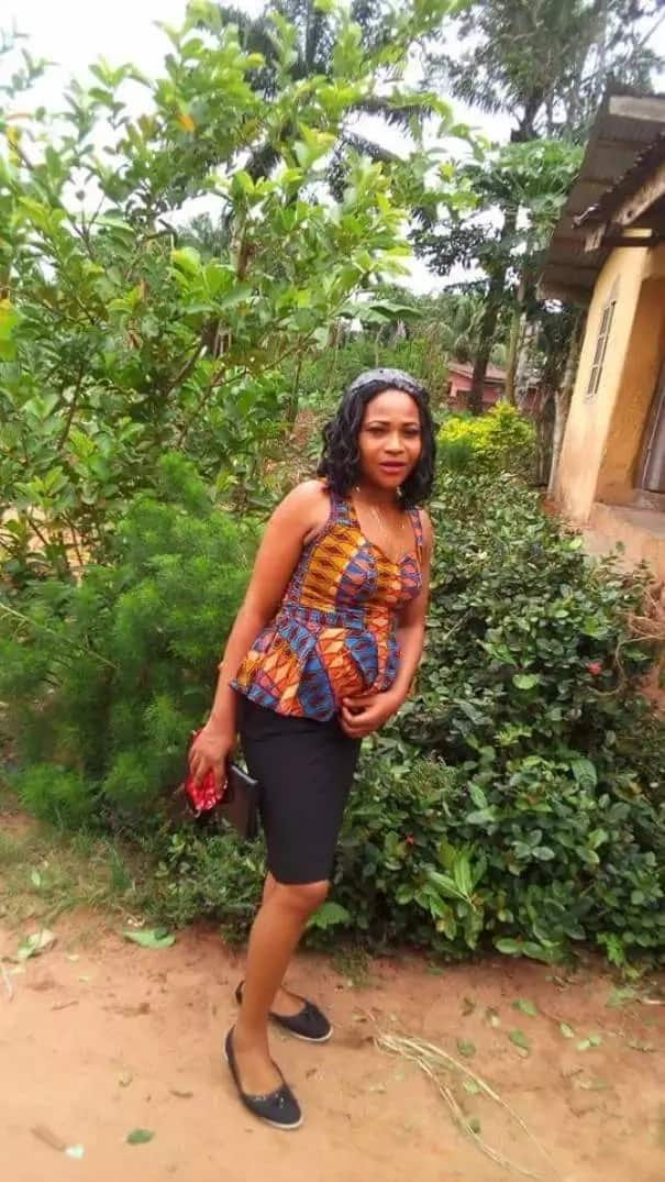 Pretty young pregnant lady dies in car accident in Imo state (photos)