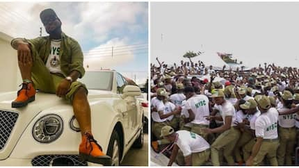 Man analyzes how Davido's 3-week stay in the NYSC Lagos camp could have solved some situations
