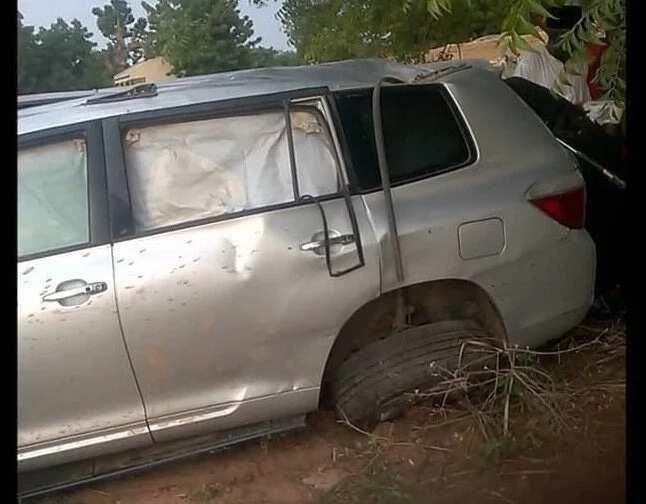 Breaking: R-APC chairman, Buba Galadima, son in auto crash (photos)