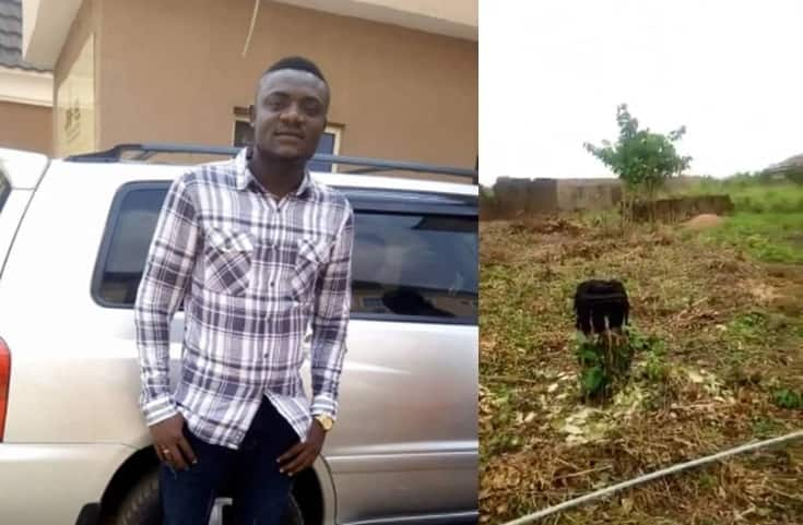 Man left stranded after his sister sold his plot of land while he was abroad