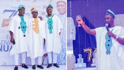 Ushbebe celebrates father's 70th birthday in lavish manner (photos, videos)