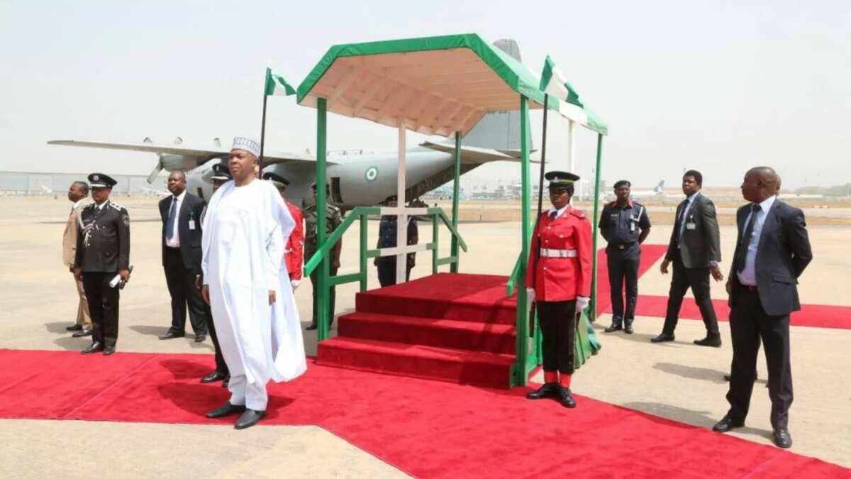 Osinbajo, Saraki other dignitaries receive Ewkueme