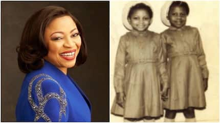 Billionaire Folorunso Alakija shares throwback photo of herself when she was 7 years old