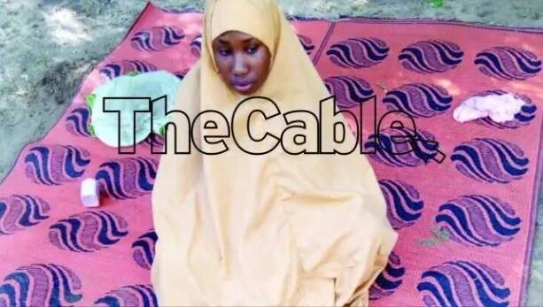 BREAKING: Leah Sharibu reportedly speaks from captivity, begs Buhari to save her