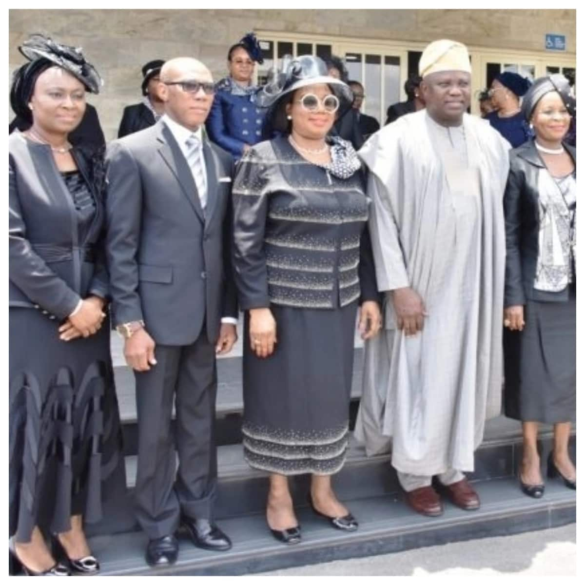 Just in: Governor Ambode swears-in 3 new High Court judges, permanent secretary (photo)