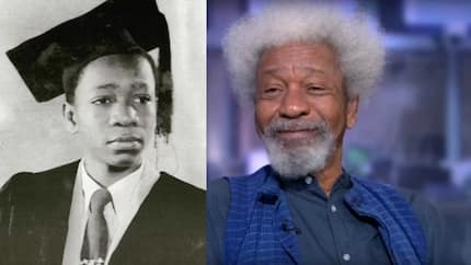 As Prof. Wole Soyinka turns 83, here are 5 photos from his childhood to make you smile