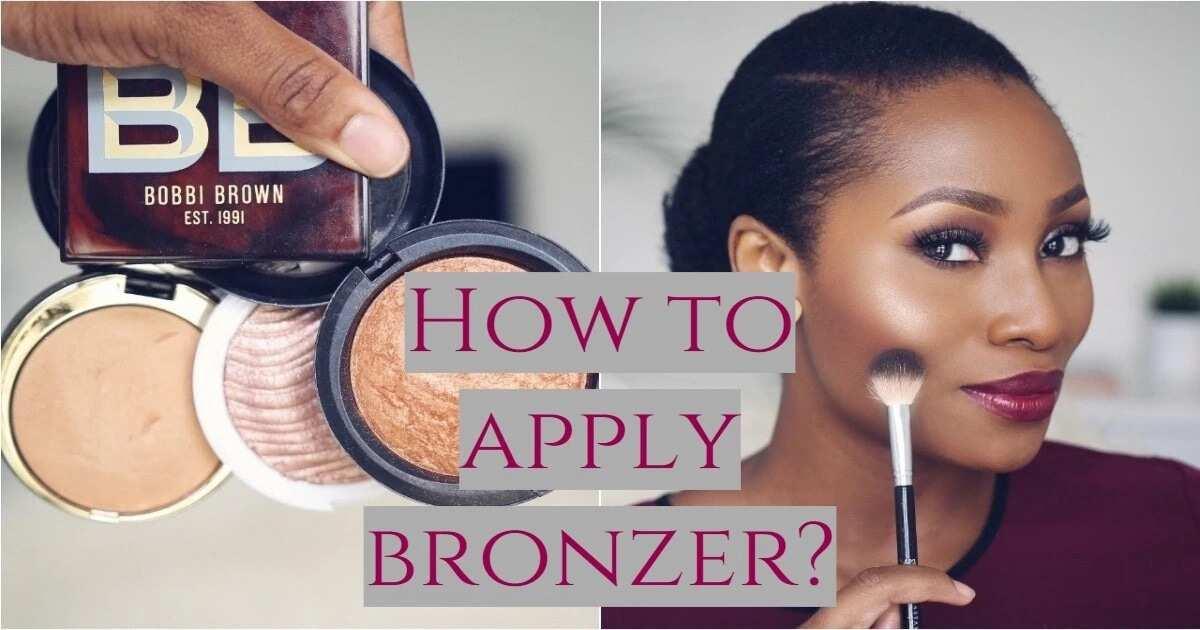 Bronzer or secrets of make up