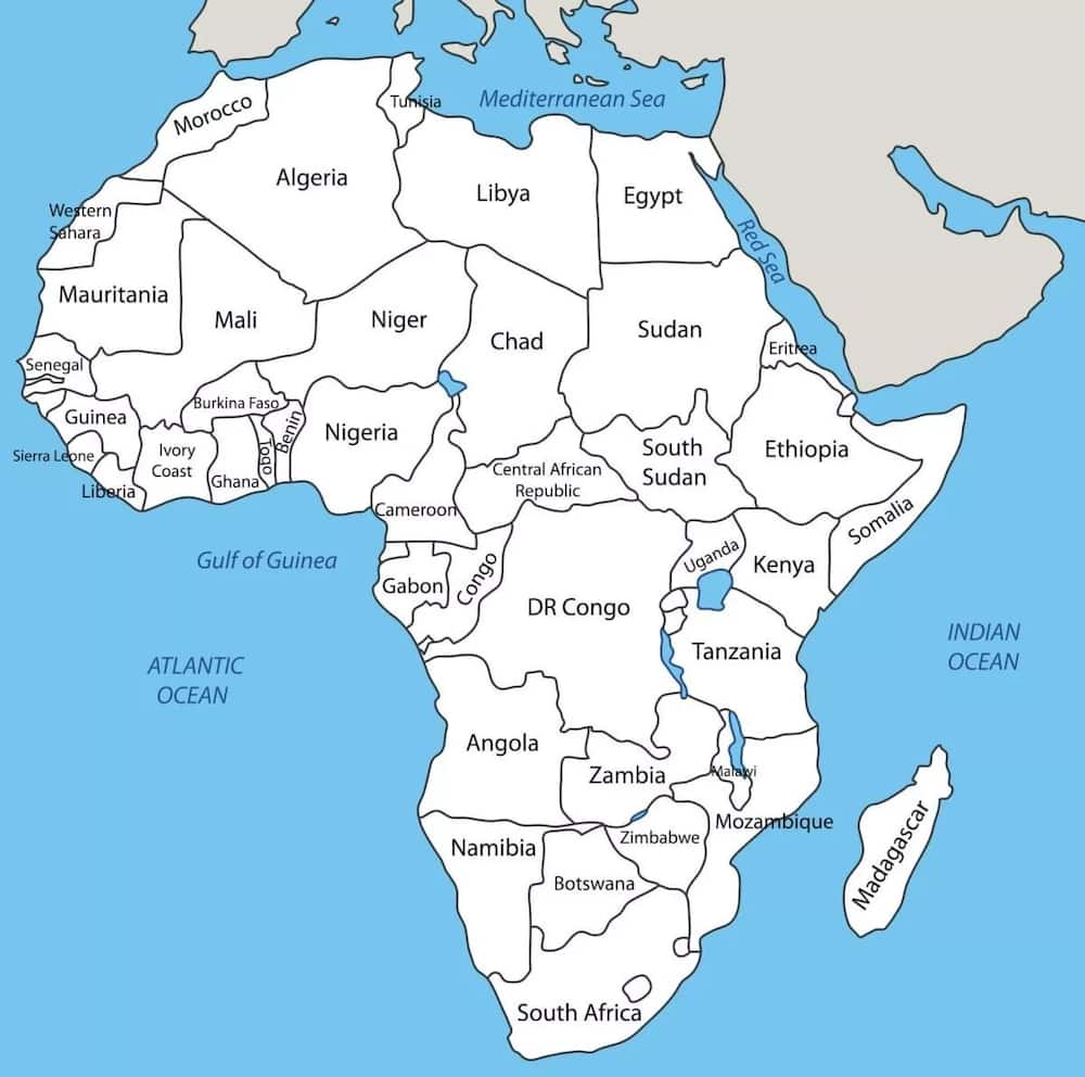 Largest country in Africa by area and population