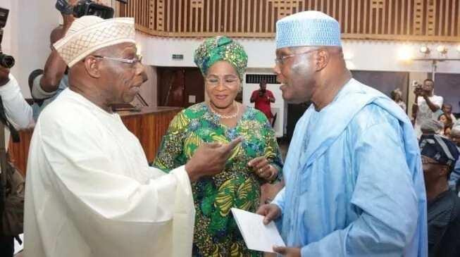 Asin da Asin: Atiku Abubakar da Olusegun Obasanjo sun dunkule a jihar Legas