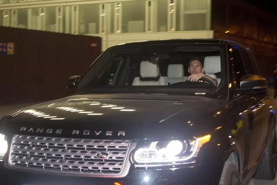 Messi's cars
