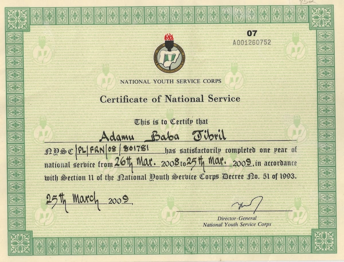 NYSC discharge certificate: how to get?