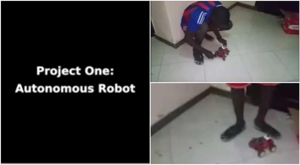 UNIMAID student makes autonomous robot