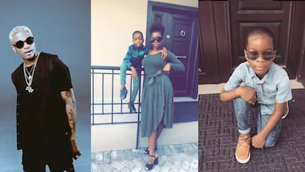 Wizkid's first babymama Oluwanishola opens a can of worms about singer, calls him 'social media father'