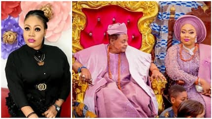 Happy birthday to my husband and ancestor - Alaafin of Oyo's queen says as he turns 80 (photos)