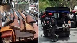Police discover illegal firearms' factory in Niger