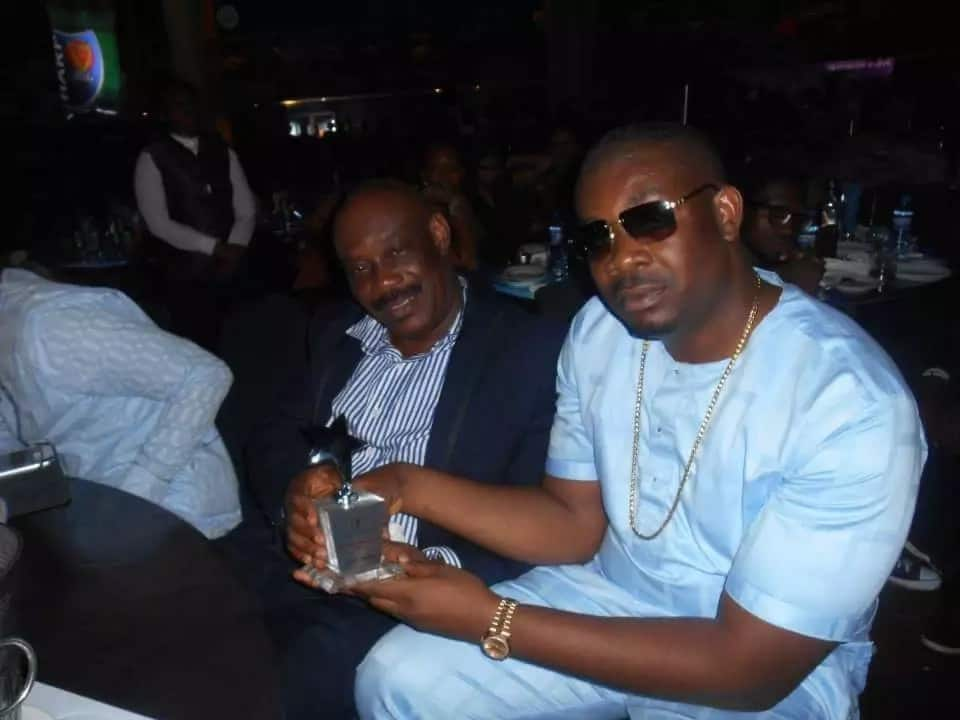 Collins Enebeli and Don Jazzy