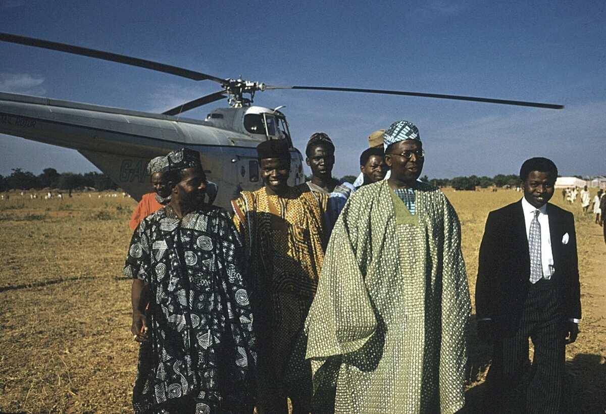 Chief Obafemi Awolowo in Sokoto