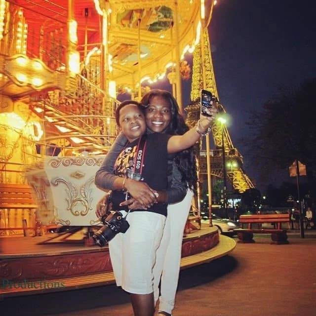 Chinedu Ikedieze with wife