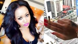 Curvy Kenyan model Vera Sidika lands in hot soup after posting photo with an illegal substance