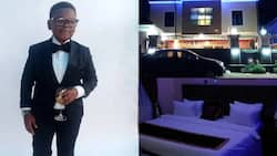 Nigerian comic actor Paw Paw shares photos of his new hotel in Imo state
