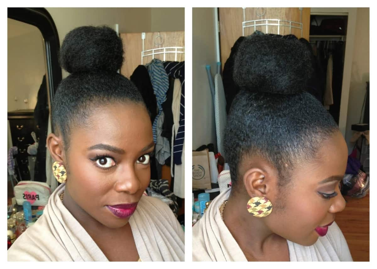 How to pack natural hair